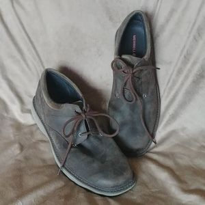 Mens Merrell Brown leather shoes size 13